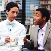 littledust: Troy & Abed clinking coffee cups. ([comm] troy & abed in the morning)