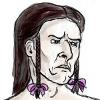 sleepyowlet: Loghain with pink ribbons in his wind-braids (Default)