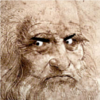 mardypants: Leonardo Da Vinci is Not Amused (oh harrumph)