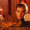 "damkianna: A cap of Irulan from the Dune miniseries, with accompanying text: ""Empress"". (Empress.)"