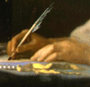linaewen: (Writing by Vermeer)
