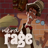 "damkianna: A cap of Milo from Disney's Atlantis, with accompanying text: ""Nerd rage"". (Nerd rage.)"