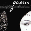 """damkianna: A cap of Padme Amidala from Star Wars, with accompanying text: """"Queen"""". (Queen.)"""
