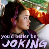 "damkianna: A cap of Magenta from Sky High, with accompanying text: ""You'd better be joking."" (You'd better be joking.)"