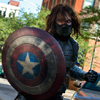 not_a_commie: (Bucky with Shield)