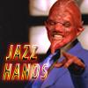 singindemonhq: Sweet gesturing to get response from viewer (jazz hands)