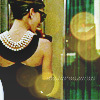 kiki_eng: Breakfast at Tiffany's - Holly Golightly - Audrey Hepburn (woman in evening wear & sunglasses stands before shop window) (breakfast at tiffany's)