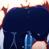 swimming_anime: haruka nanase's butt as he gets out of the pool (visual representation of self)