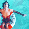 go_dog_go: Dr. Frank N. Furter floating in a pool (frankie: don't dream it be it)