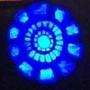 zandperl: Close-up of Tony Stark's arc reactor from a cosplay (Arc reactor)