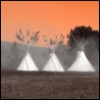 abrasax: (red sky and tee pee)