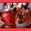celli: the soccer team from Bend it Like Beckham helping Jess get dressed in her sari (Beckham girls)