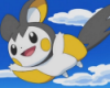 fluffybun: flying Emolga (happy)
