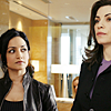zulu: Kalinda eyes Alicia sideways (the good wife - kalinda looks)