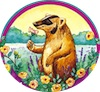 marcicat: (badger roses)