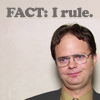 quirkyblogger: Fact: I rule. (irule)