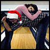 canadiandiamond: (Awkward hug [Christmas])