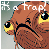 theatervine: Admiral Ackbar - Return of the Jedi: Animated (it's a trap by notashamed)