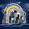 eponymousanon: Rainbow City (Default)