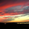 sharpiefan: Sunset with red sky (Sunset2)