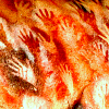 sholio: Hand outlines on a cave wall (Cave painting-Hands)
