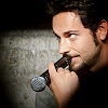 next_to_normal: Zachary Levi holding the wrong end of a microphone to his lips (Zac microphone)