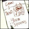 sapphoisburning: i bend your spoons (magneto)