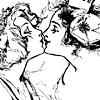 camshaft22: Princess Ozma and Dorothy Gale almost kissing (Ozma and Dorothy Kiss)