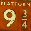 fluffybun: sign Platform 9 and 3/4 (fantasy)