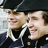 muccamukk: William and Horatio grinning. (HH: Happiness Is...)