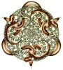 """sanguinity: woodcut by M.C. Escher, """"Snakes"""" (Escher Snakes)"""