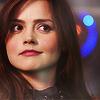 annariel: Clara Oswald, looking sideways. (Who:Eleven)