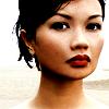 st_aurafina: Close up of Bic Runga, NZ musician (Music: Bic Runga)