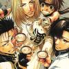 telophase: (Saiyuki - drinking)