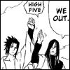 telophase: (Sasuke-Orochimaru high 5)