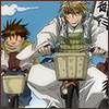 telophase: (Sanzo - bike)