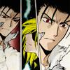 elizabeth_rice: Fay breaking Kurogane's heart (Fandom 13)
