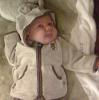 flora: My baby daughter Alice dressed as a teddy bear. (alice-bear)
