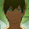 swimming_anime: makoto in ep 7, looking disappointed as he talks to rin (i am so disappoint)