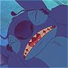 apollymi: Stitch holding his head in pain, no text (L&S**Stitch: Headache)