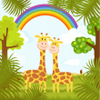 marcicat: (rainbow giraffes)