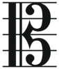 shadowspar: image of an alto clef (alto clef)