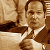 apollymi: Don Schanke with a paper, looking very unimpressed, no text (FK**Schanke: Schanke is unimpressed)