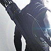 spikedluv: (avengers: hawkeye - back view by inkvoic)