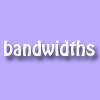 bandwidths: (pic#7298521)