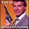 "hradzka: ""Trust me, I know what I'm doing."" (sledge hammer!)"