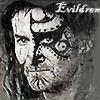 ext_8947: Bronze age Kronos face with Evildrem written in corner (Default)