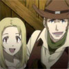tyger: Isaac and Miria, grinning. (Isaac and Miria -  ...na :D?)