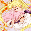 loffyglu: Usagi and Chibiusa from Sailor Moon hugging. (Hug)