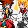 cloud_strife: Kingdom Hearts II; Sora + Roxas (To our next adventure!)
